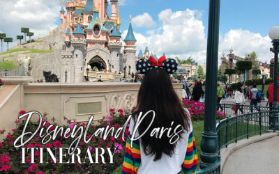 Disneyland Paris Itinerary